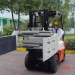 ચાઇના હાઇડ્રોલિક એફિશિયન્ટ ફોર્કલિફ્ટ ટ્રક એટેચમેન્ટ્સ મલ્ટિ પર્પઝ ક્લેમ્બ