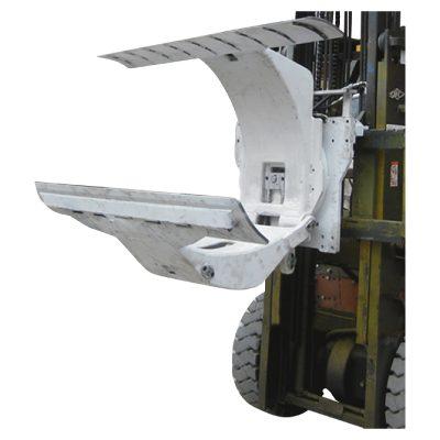 પેપર રોલ ક્લેમ્પ્સ જોડાણ સાથે 3 ટન ડીઝલ ફોર્કલિફ્ટ ટ્રક