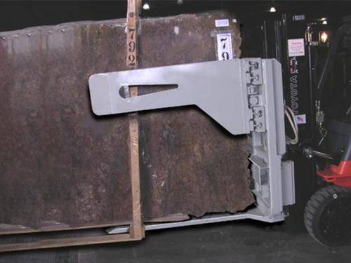 Forklift Marble Handler